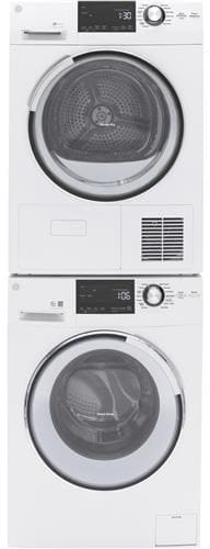 Ge Gft14esslww 24 Inch Ventless Condensing Dryer With He