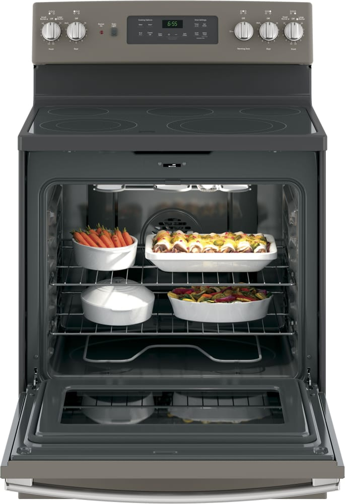 Ge Jb655ekes 5 3 Cu Ft Convection Oven With Self Cleaning Mode