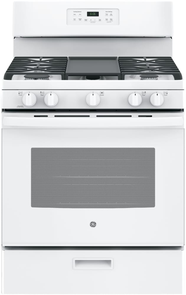 Ge Jgbs66 30 Inch Free Standing Gas Range With 5 Sealed