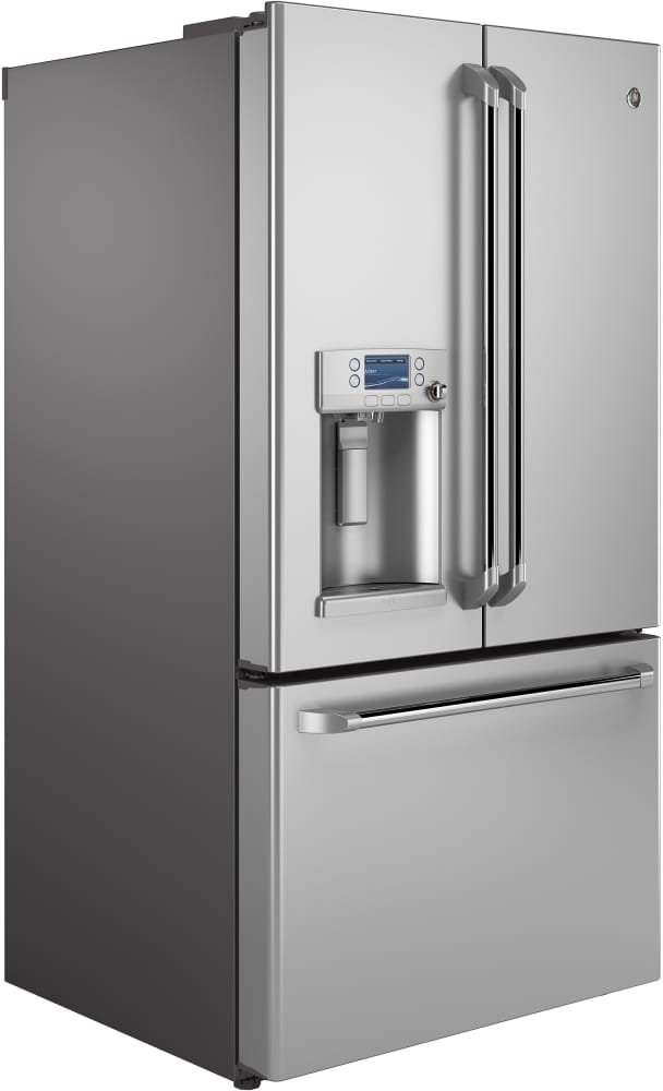 Capacity Ge Cafe Series Cfe28tshss 36 Inch French Door Refrigerator From