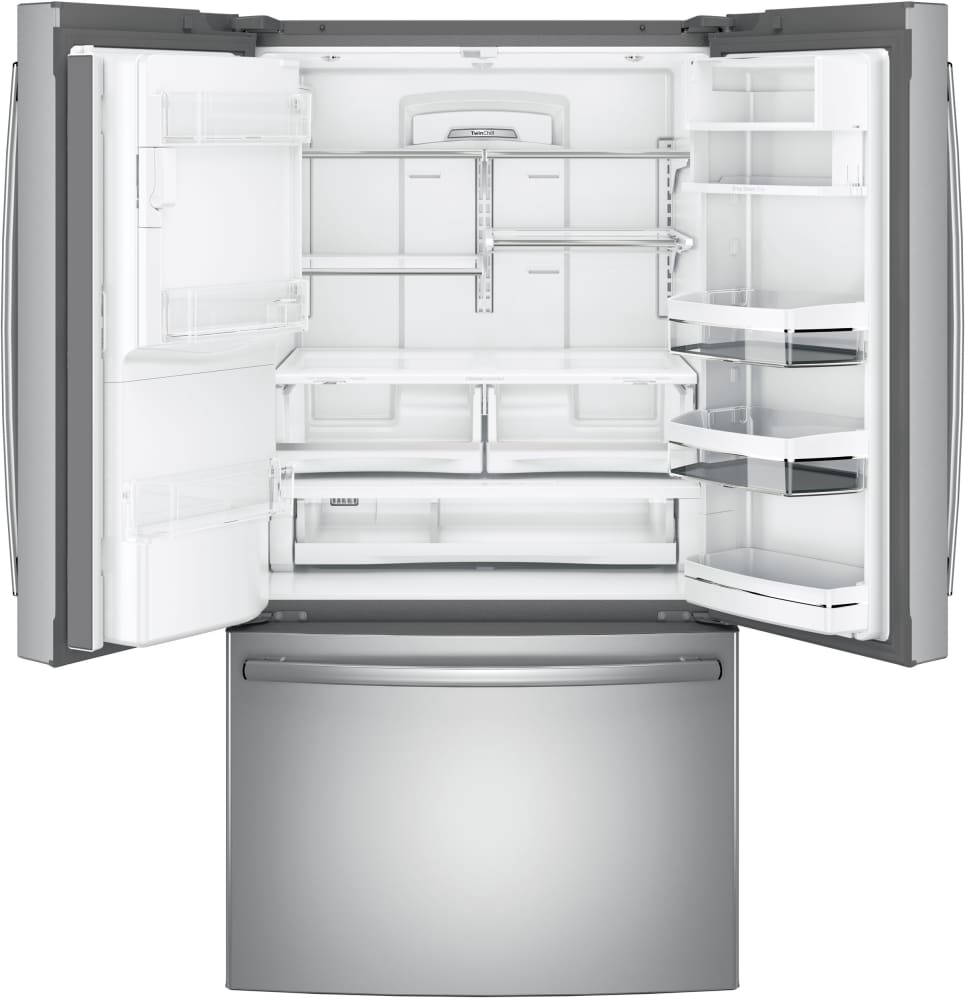 Ge Pfe28kskss 36 Inch French Door Refrigerator With