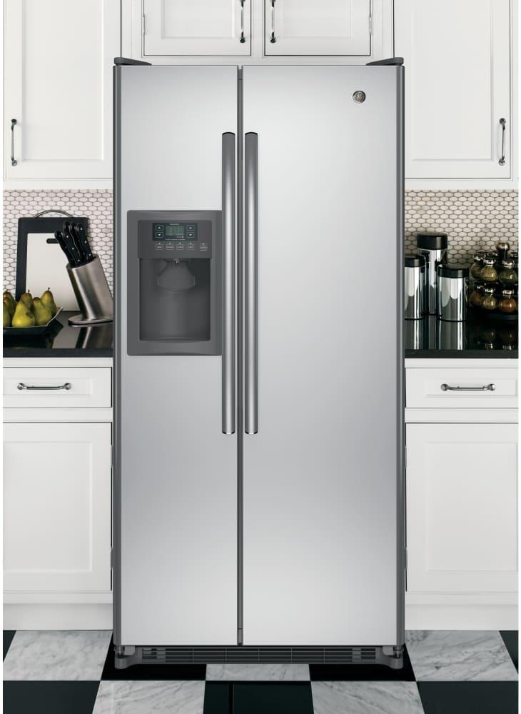 Ge Gss20eshss 32 Inch Side By Side Refrigerator With 20 0