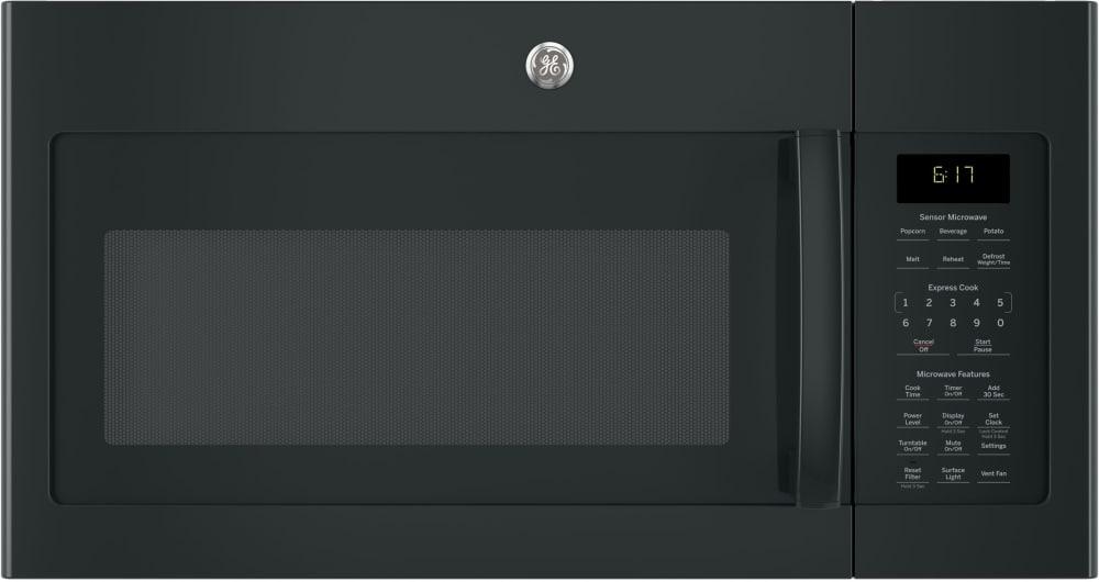 Ge Jvm6175dkbb 1 7 Cu Ft Over The Range Microwave With