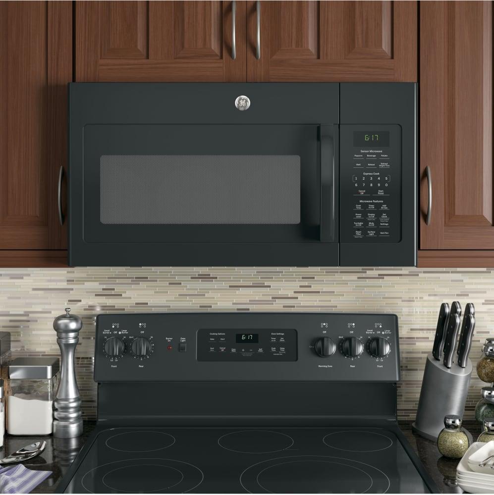 Installation of ge microwaves over the range -  Ge Jvm6175dkbb Kitchen View