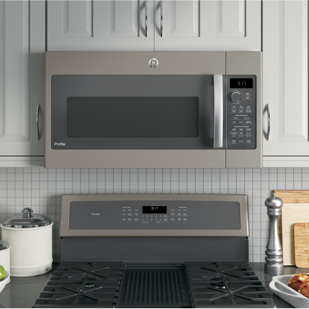 30 Inch Over The Range Microwave Convection Oven: GE PVM9179EKES 30 Inch Over-the-Range Microwave With
