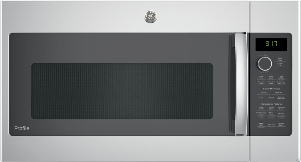 Ge Profile Pvm9179skss 30 Inch Over The Range Microwave With Convection