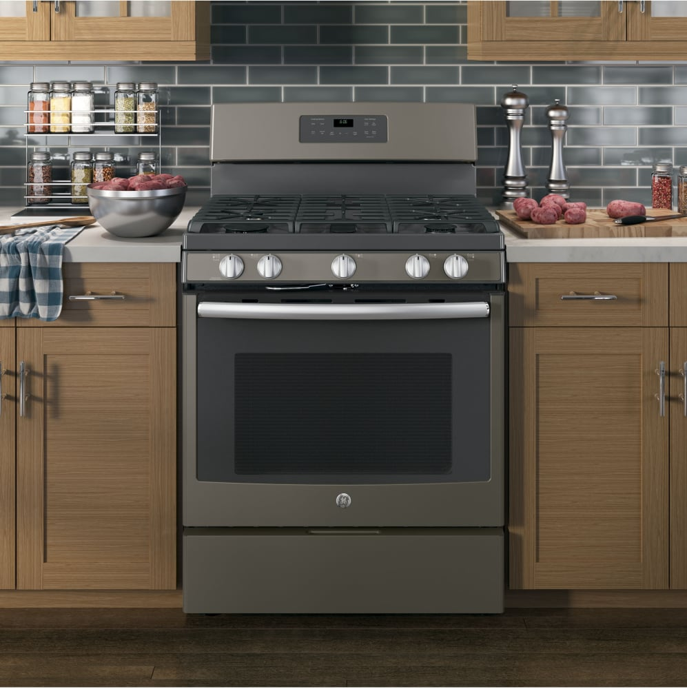 Ge Jgb660eejes 30 Inch Freestanding Gas Range With Precise Simmer