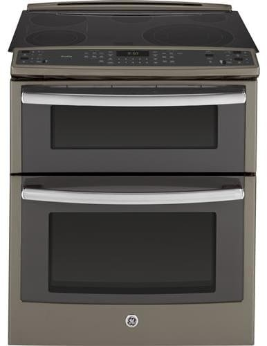 Ge Ps950efes 30 Inch Slide In Double Oven Electric Range