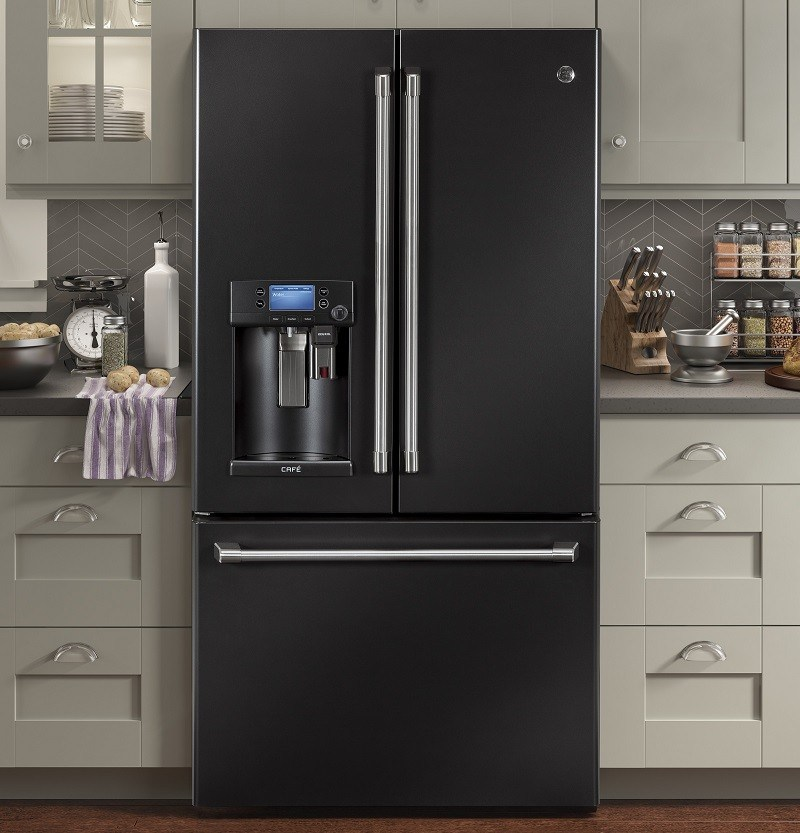 Ge Cfe28uelds 36 Inch French Door Refrigerator With Keurig