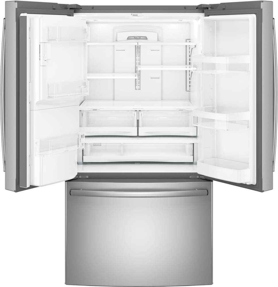Ge Gfe26gskss 36 Inch French Door Refrigerator With