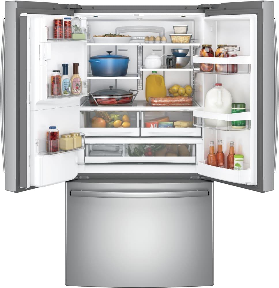 Ge Gfe28gskss 36 Inch Smart French Door Refrigerator With