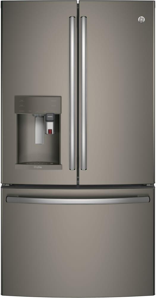 GE Profile GERERADWMW7754   Package GE Profile GERERADWMW7754   GE Profile  Series ENERGY STAR Refrigerator With Keurig System   Slate ...