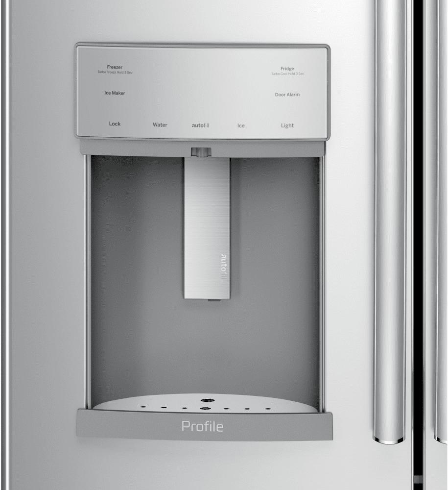 Ge Pye22kskss 36 Inch Counter Depth French Door