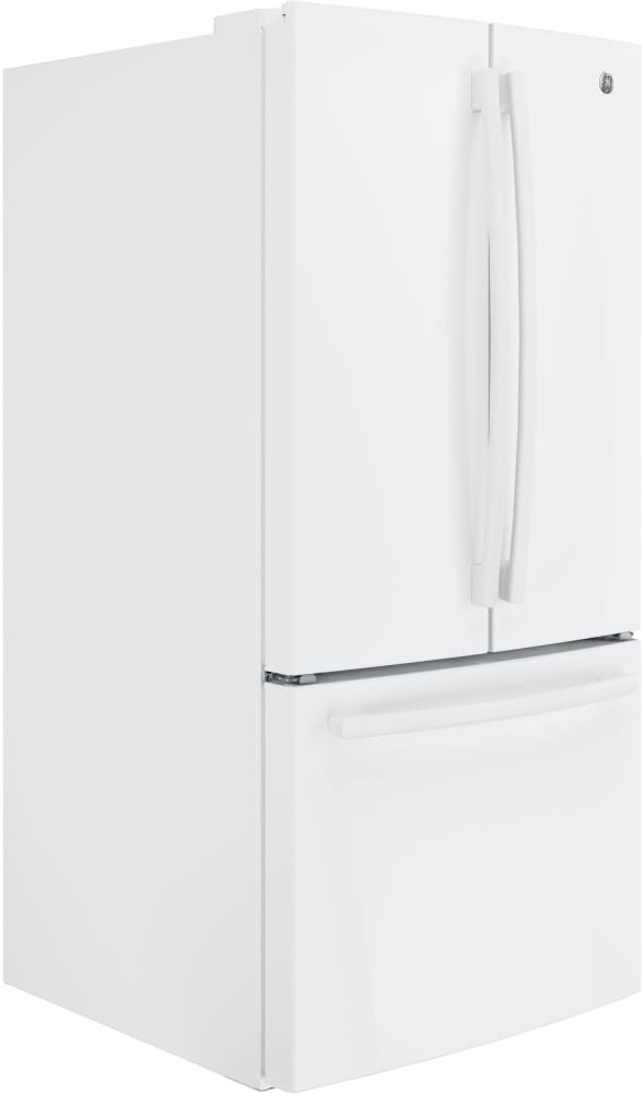 Ge Gne25jgkww 33 Inch French Door Refrigerator With