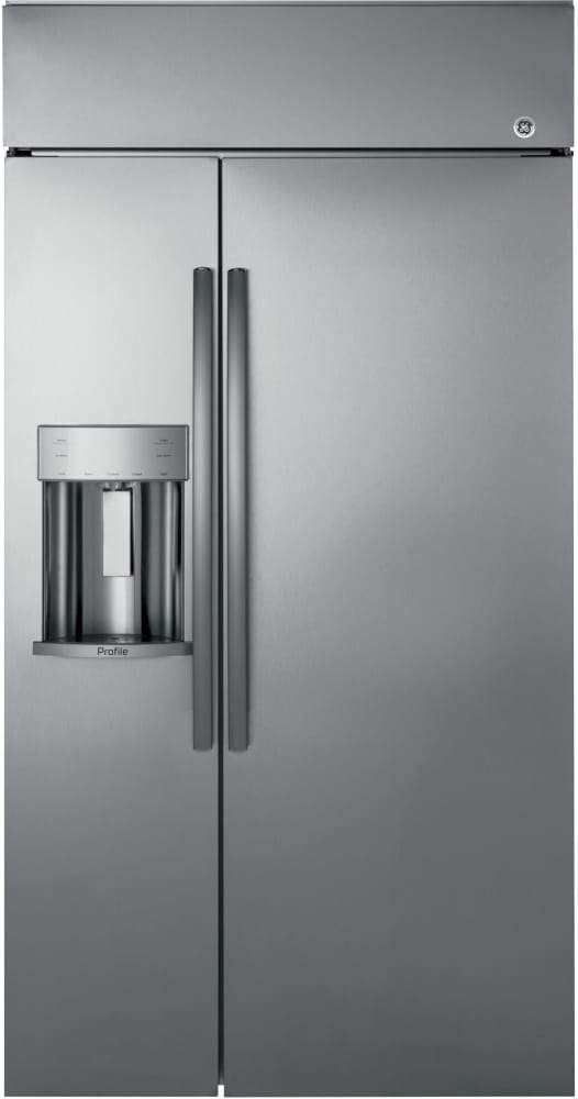 Ge Psb48yskss 48 Inch Built In Side By Side Refrigerator