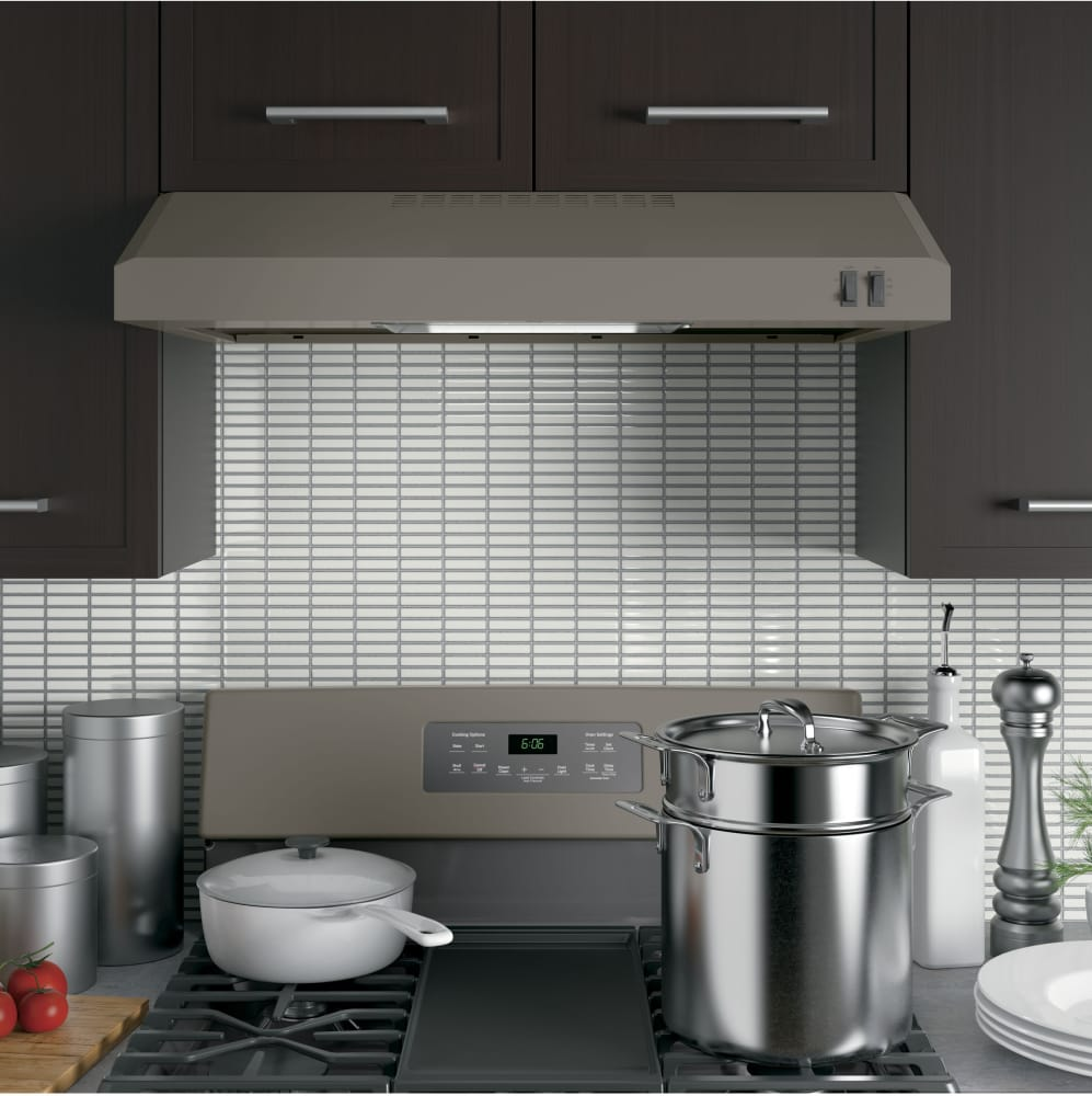 Delicieux ... Range Hood In Slate From GE GE JVX3300EJES   Lifestyle View