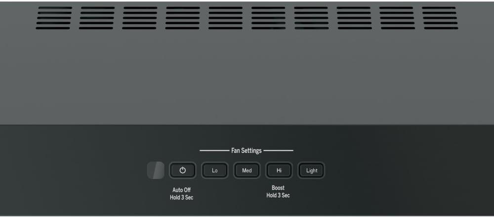 GE JVX5300DJBB 30 Inch Under Cabinet Range Hood with 4 Speeds, 300 ...