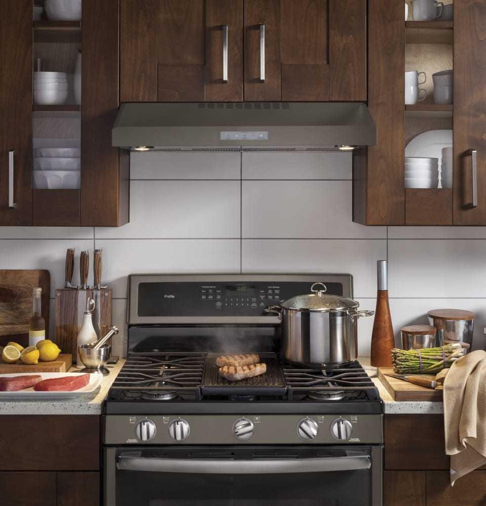 Ge Pvx7300ejes 30 Inch Under Cabinet Range Hood With 400