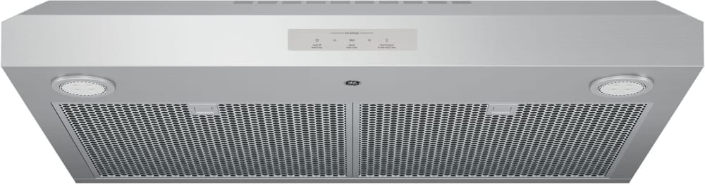 GE PVX7300SJSS 30 Inch Under Cabinet Range Hood with 400 CFM, 4 ...