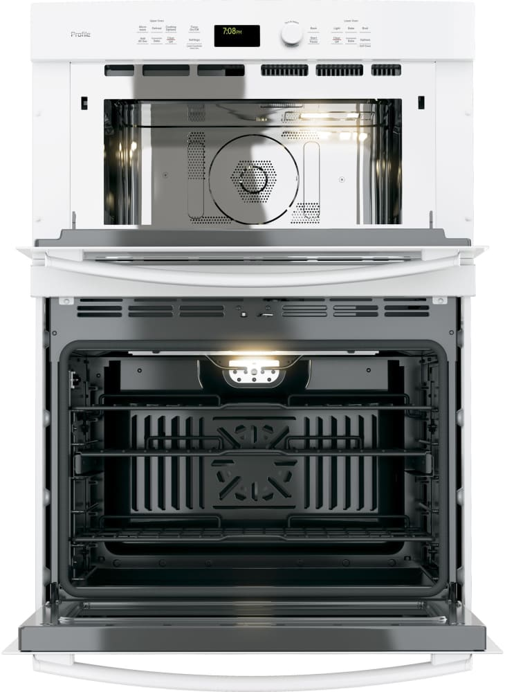 Ge Pt7800dhww 30 Inch Combination Wall Oven With True