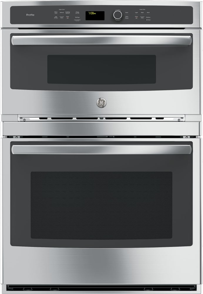 Ge Pt7800xh 30 Inch Combination Wall Oven With True