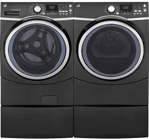 Ge Gfw450spmdg 27 Inch Front Load Washer With Internal