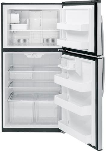 Ge Gie21gshss 33 Inch Top Freezer Refrigerator With 21 2