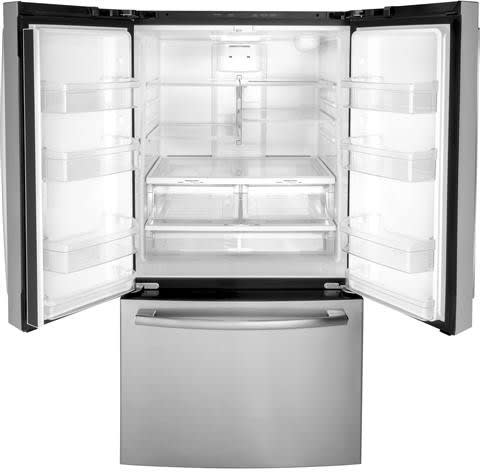 Ge Gne27jgmbb 36 Inch French Door Refrigerator With