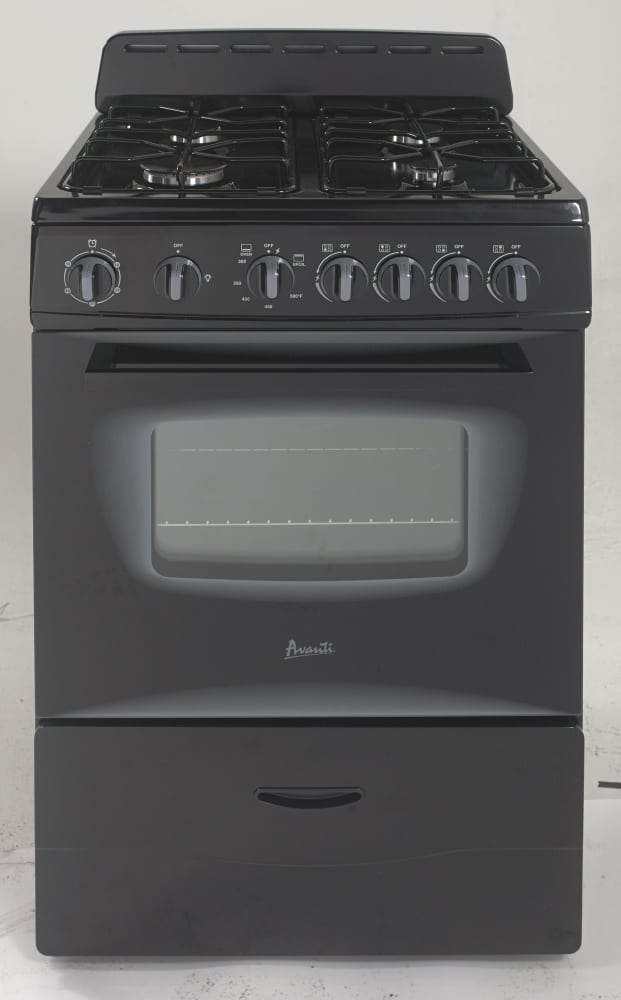 Smart Choice Auto >> Avanti GR24X 24 Inch Freestanding Gas Range with 4 Sealed