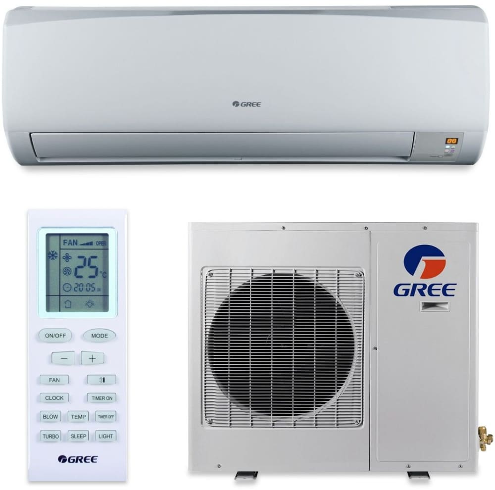 Gree Rio Series RIO24HP230V1A   Gree Rio Wall Mount Ductless Air Conditioner  U0026 Heating System