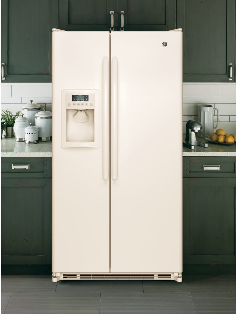 Ge Gse25ethcc 36 Inch Side By Side Refrigerator With 24 7