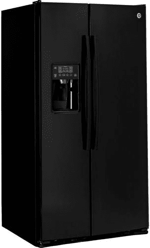 Ge Gse25gghbb 36 Inch Side By Side Refrigerator With 25 4