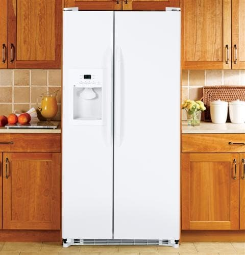 Ge Gss20gewww 32 Inch Side By Side Refrigerator With 20 0