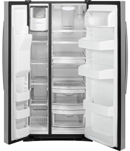 Ge Gss23hshss 33 Inch Side By Side Refrigerator With 22 5
