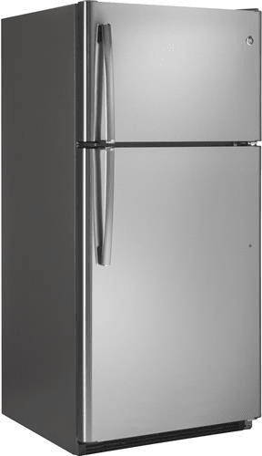 Ge Gts21fskss 31 Inch Top Freezer Refrigerator With