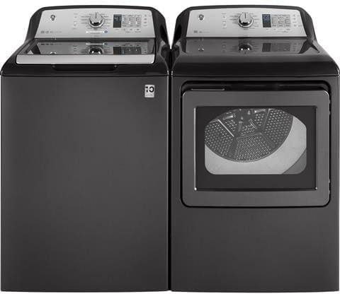 Ge Gewadrgg13 Side By Side Washer Amp Dryer Set With Top