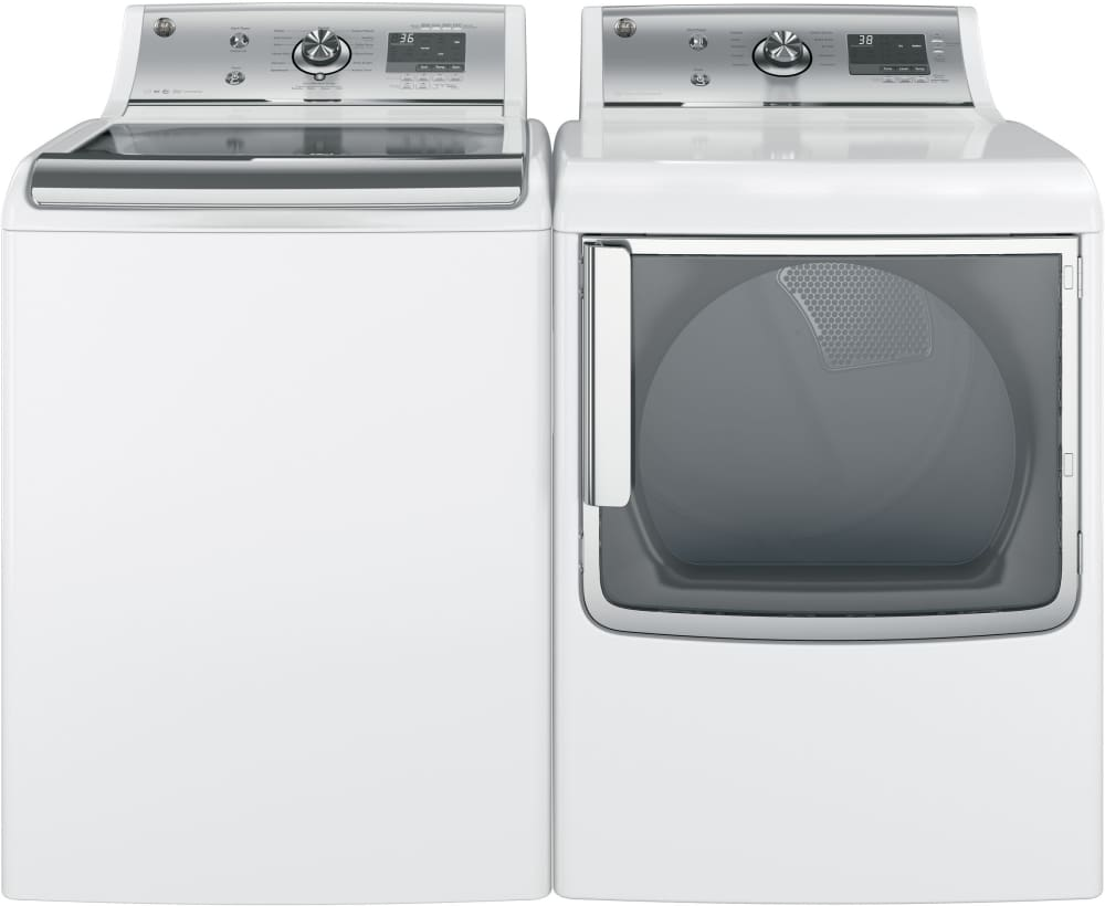 GE GFW450SSKWW 27 Inch Front Load Washer With Steam Option