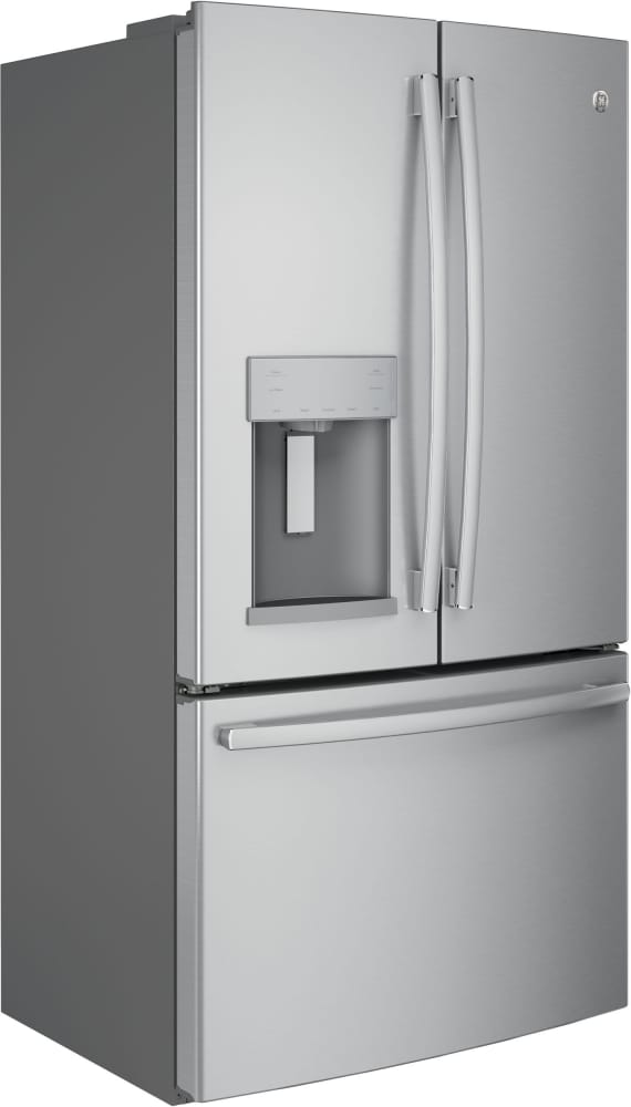 Ge Gye22hskss 36 Inch Counter Depth French Door