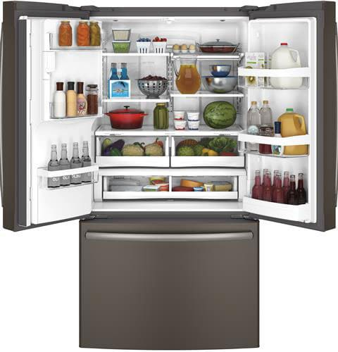 Ge Gye22kmhes 36 Inch French Door Refrigerator With 22 1