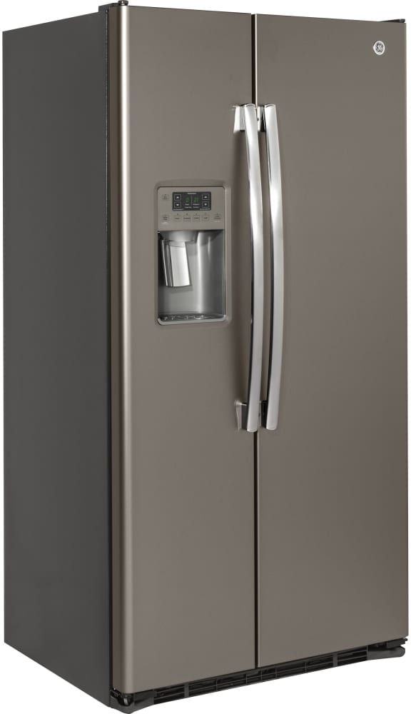 Ge Gzs22d 36 Inch Counter Depth Side By Side Refrigerator With Ice Maker Advanced Water