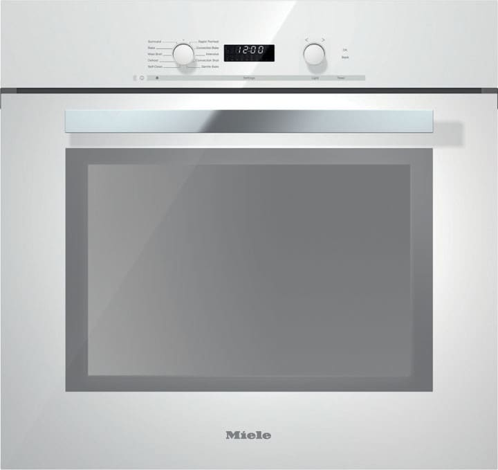Miele H6280bpbrws 30 Inch Single Electric Wall Oven With 4