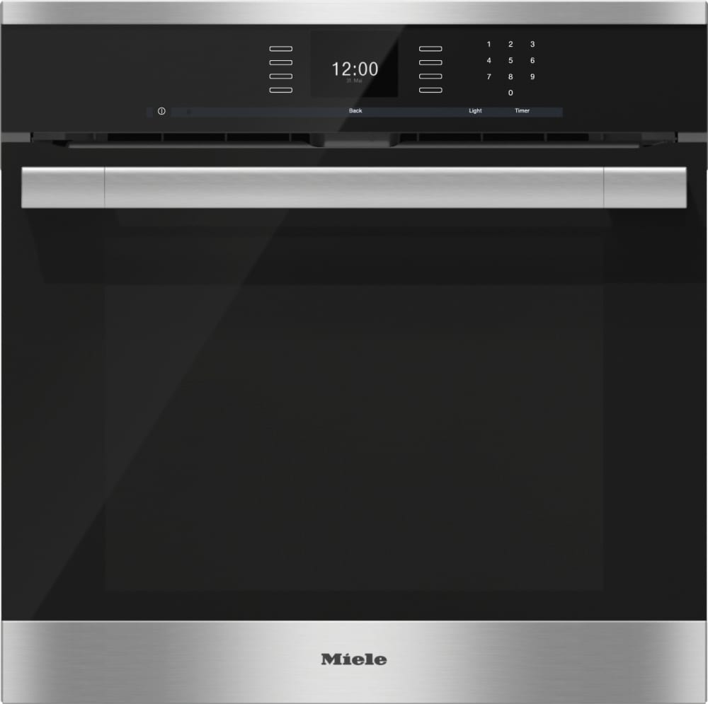 Miele H6560b 24 Inch Single Electric Wall Oven With