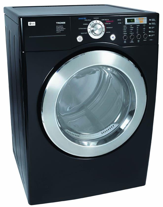 lg tromm dryer. LG DLE5977B - Main Angled View Lg Tromm Dryer L