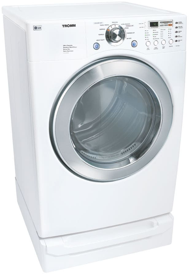 Lg Dle5977w 27 Inch Electric Dryer With 7 3 Cu Ft