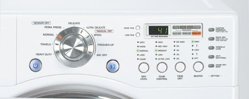 Lg Dle5977s 27 Inch Electric Dryer With 7 3 Cu Ft