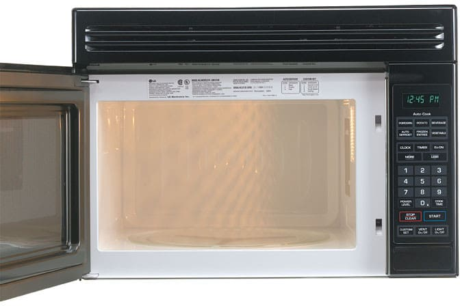 Best Over The Range Microwave >> LG LMV1314W 1.3 cu. ft. Compact Over-the-Range Microwave with 900 Cooking Watts and 4 Auto Cook ...