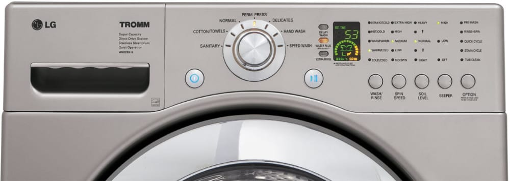 Lg Wm2233hs 27 Inch Front Load Washer With 4 0 Cu Ft