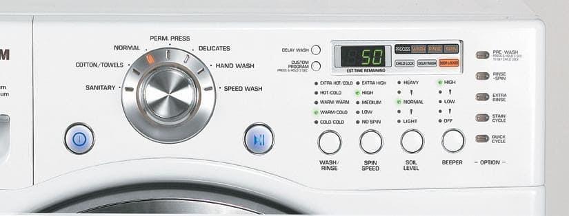 Lg Wm2277hw 27 Inch Xl Front Load Stackable Washing