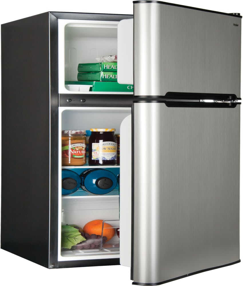 Haier hc31tg42sv 19 inch compact refrigerator with 32 cu ft haier hc31tg42sv stainless steel compact refrigerator from haier haier hc31tg42sv door rubansaba