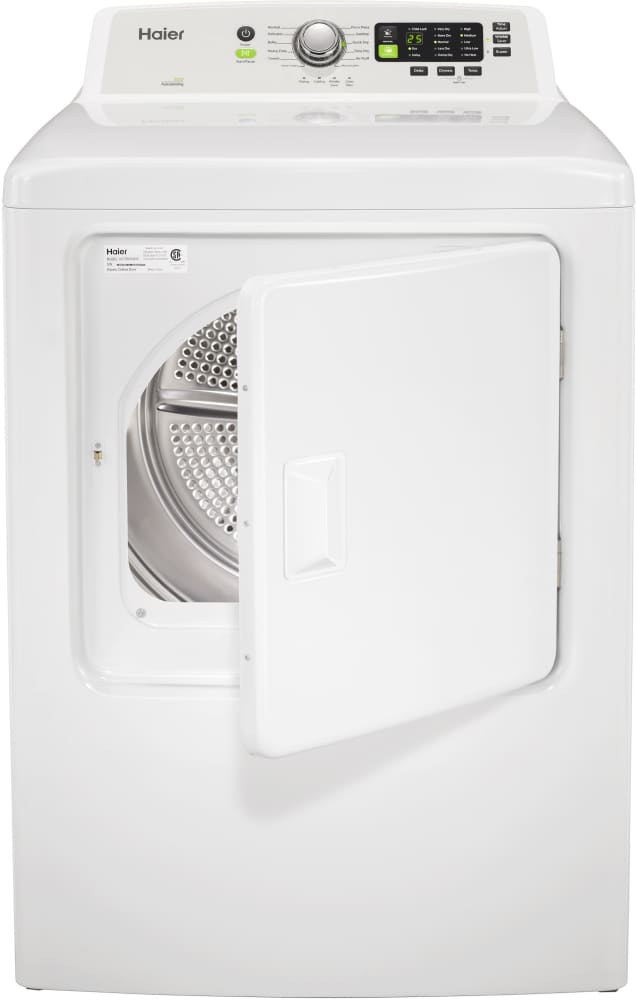 haier hltd600aew haier electric dryer with rear controls haier hltd600aew 67 cu - Haier Washer Dryer Combo